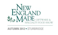 New England Made Giftware & Specialty Food Show - September 9-10, 2012