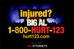 Injured? Call 1-800-HURT-123