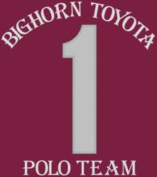 Bighorn Toyata Polo Team Jersey - Back