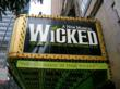 Wicked at the Gershwin Theatre in NYC