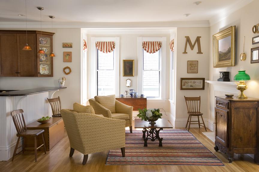 New England Interior Design Living Room