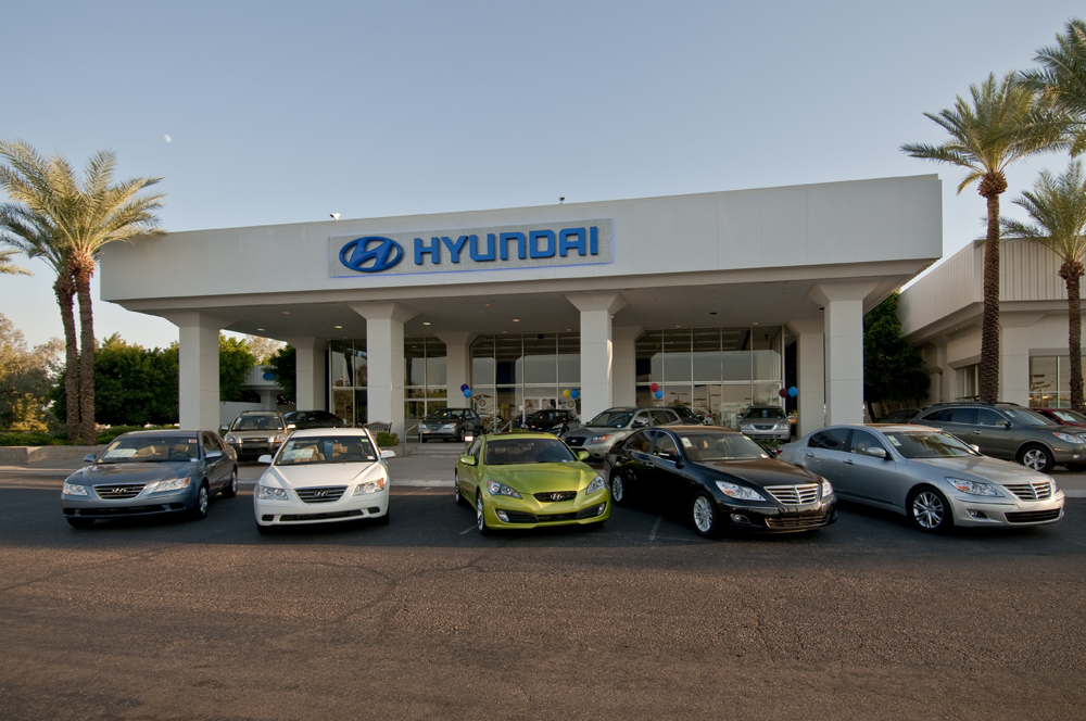 Chapman Hyundai Phoenix Phoenix Hyundai Dealership On