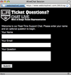 live chat window