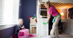 Better Life Maids professional house cleaning safe for children and families