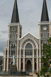 cathedral thailand, chanthaburi