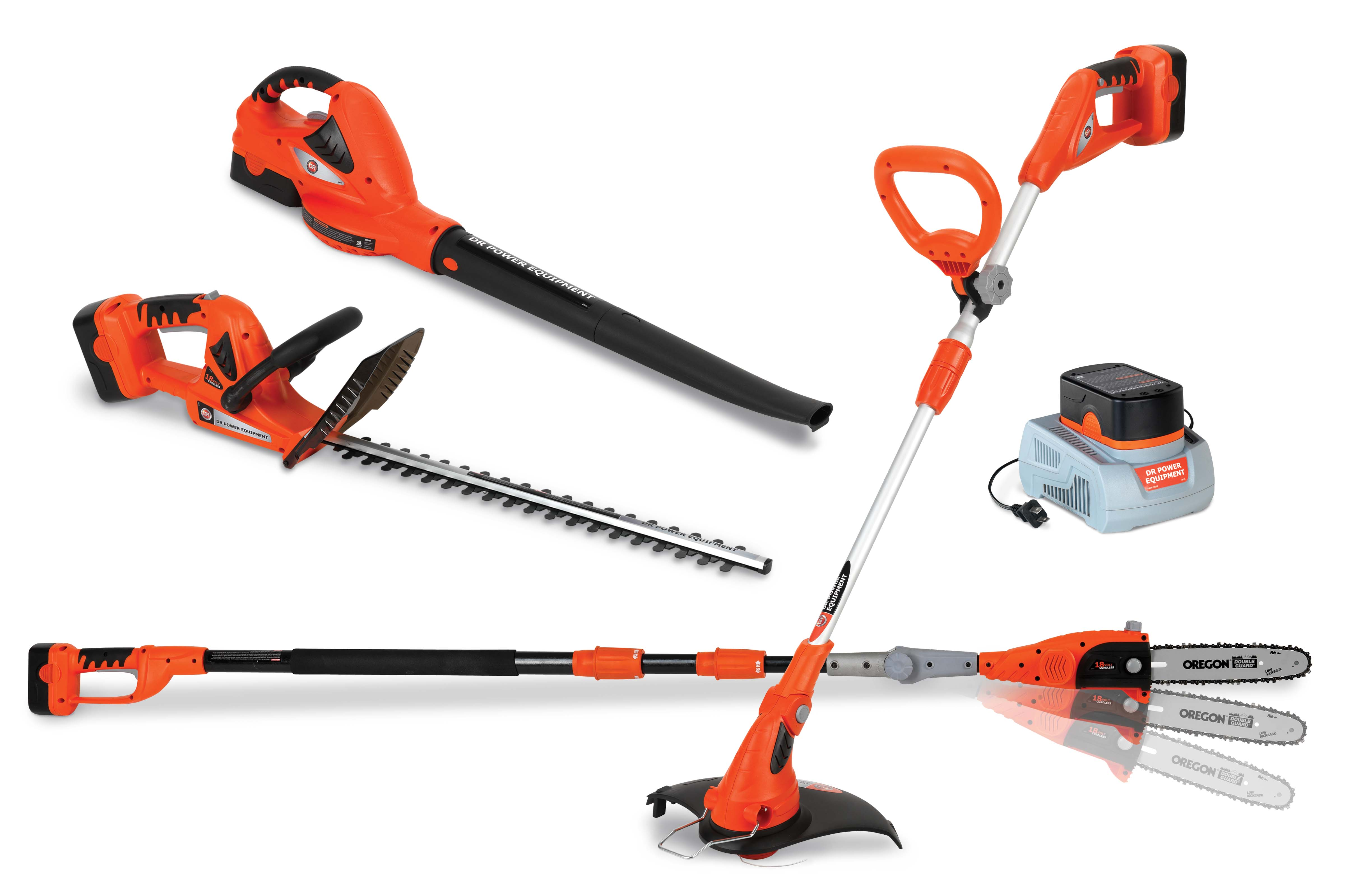 Dr power introduces new lithium ion battery powered hand for Yard and garden equipment