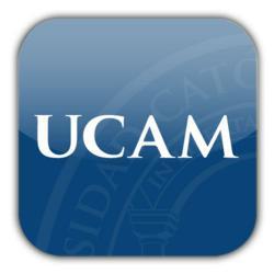 UCAM logo.