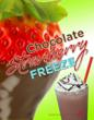 Crimson Cup Strawberry Chocolate Freeze Marketing Poster