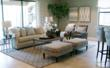 Isabella Model Living Room at Millbrook village in Fiddler's Creek - Naples, FL