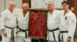 Four Shihans with Master Kimura's Belt