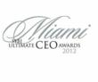 2012 Miami South Florida Business JournalUltimate CEO Award