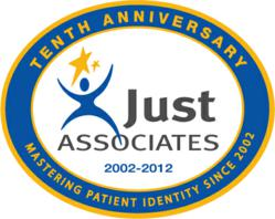 Just Associates' 10 Year Logo
