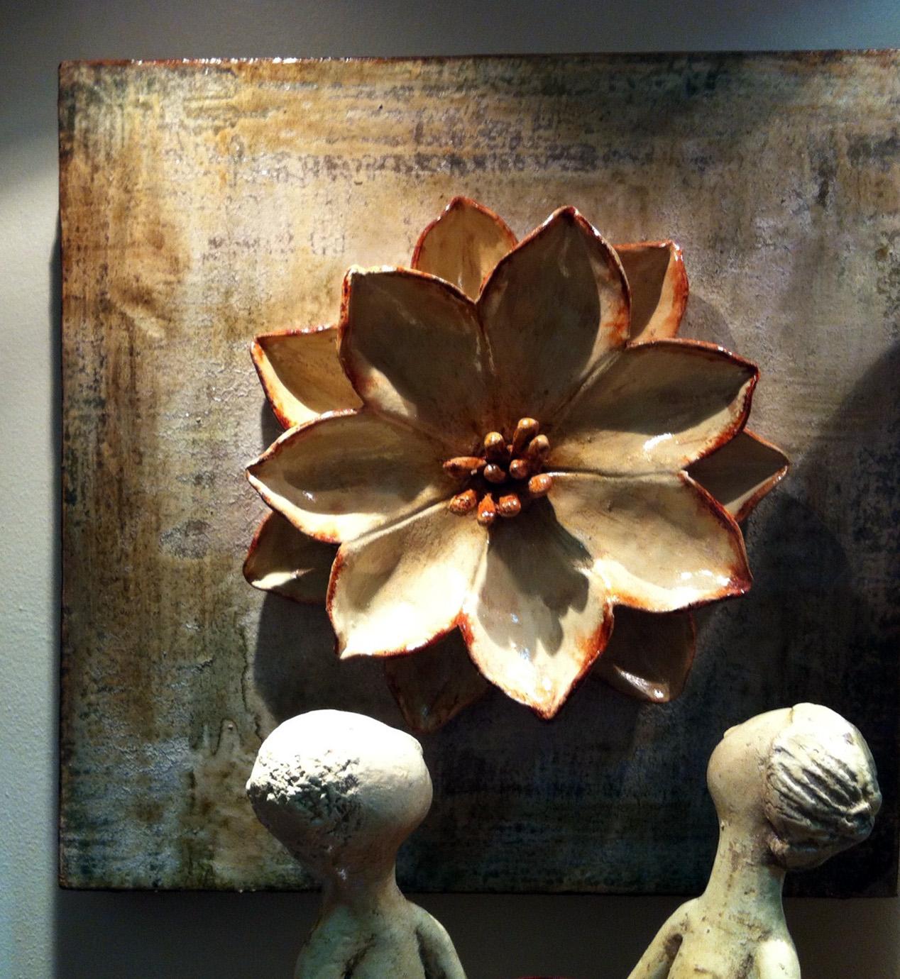 Lotus Flower Art Mexican Artisans Bring...