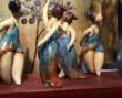 5 Dancers Handcrafted in Clay