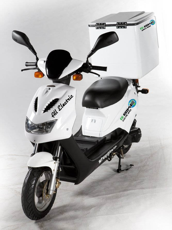 Gbike Launches 1st Ever All Electric Food Delivery Vehicle