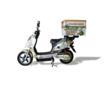 Side View of GBIKE City Commercial All-Electric Food Delivery Bike