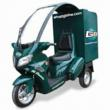 GBIKE Commercial 3 wheeled delivery vehicle
