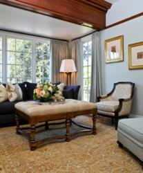 Living room interior by Portland's Garrison Hullinger Interior Design