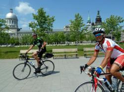 Sojourn Bicycle Tours Montreal Old Port Ride