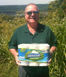 "The Winner of the White Cloud GreenEarth™ ""Beyond the Green"" Sweepstakes was announced this week."