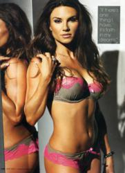 Lauren Abraham in Iron Man Magazine