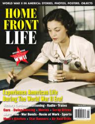 Irma Lee on the cover of Home Front Life