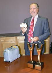 SynCardia, Total Artificial Heart, Freedom driver, Michael Garippa, American Business Awards, Stevies, heart failure, donor heart, heart transplant, LVAD, artificial heart