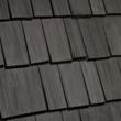 Abruzzo color blend of DaVinci Bellaforte Shake polymer roofing tiles.