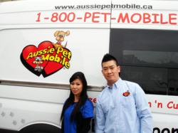 Vince & Ullanda with their First Aussie Pet Mobile