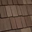 Tuscano profile of Bellaforte Shake roofing tiles.