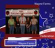 Wayne Farms Places Second in Booth Competition at 53rd Annual Poultry Festival