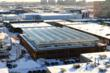 Lufa's Montreal greenhouse grows fresh produce even in the  coldest winters.