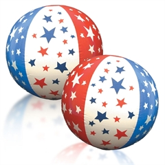 Patriotic Beachballs from Windy City Novelties