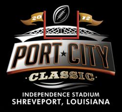 A high-resolution file of the 2012 Port City Classic logo.