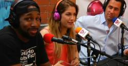 "Celebrity couple Stephen ""tWitch"" Boss and Allison Holker on Planet Love Match Radio"