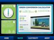 Energy Efficiency Education Dashboard illustrates building performance.