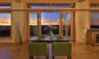 Expansive great room window walls standard in all prefab homes