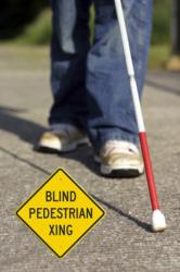 Blind Person Crossing Sign