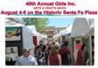 Girls Inc of Santa Fe., a Santa Fe institution since 1955 supporting risk prevention and positive development of Santa Fe girls, is the beneficiary of the 40th Annual Girls Inc. Arts And Crafts Show.