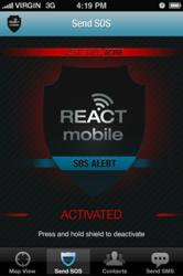 In case of emergency, launch React Mobile