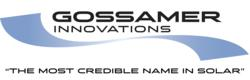 Gossamer Innovations - The most credible name in solar.