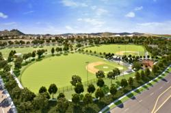 11.5-Acre Sports Park at Spencer's Crossing in Murrieta, CA.