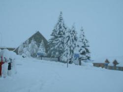 Current snowfall in Las Lenas