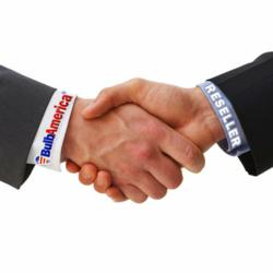 BulbAmerica Reseller Program Partner Handshake