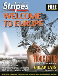 Stripes Welcome to Europe guide is a one-stop shop for those on-the-go. The print edition and online portal at stripes.com features off-the-beaten path travel destinations,  tips, interviews, weekend getaways, where to go, eat and shop to plan their ideal