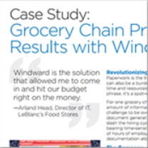 LeBlanc's, a big player in the retail industry, realized efficiencies using Windward's docgen solution for human resources forms.