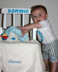 Babygiftcreations.com Rocking Chair Personalized Baby Gift