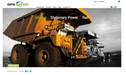 GFS Corp website homepage