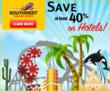 Save at Least 40% with Southwest Airlines Vacations Summer of Fun Sale