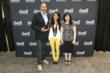 Live Work Contest Winner Amanda Ip with DWR CEO John Edelman and Dwell Editor-in-Chief Amanda Dameron